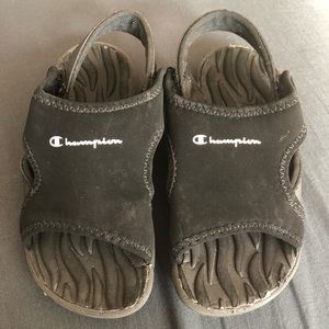 Champion Slip on Velcro Sandals